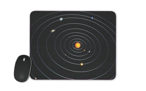 Our Solar System for Mousepad