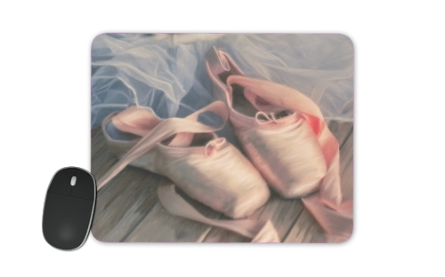 Painting ballet shoes and jersey for Mousepad