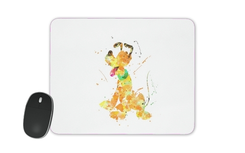 Pluto watercolor art for Mousepad