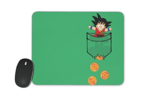 Pocket Collection: Goku Dragon Balls for Mousepad
