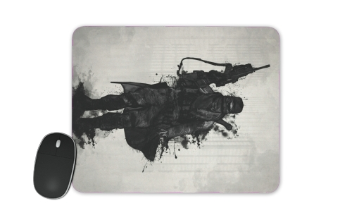Post Apocalyptic Warrior for Mousepad