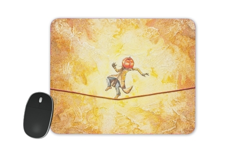 Pumpkin Tightrope Walker for Mousepad