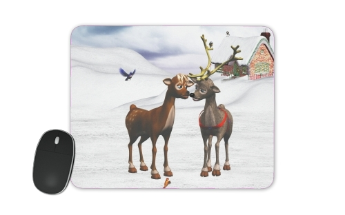 Reindeers Love for Mousepad