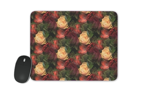 Vintage Rose Garden for Mousepad
