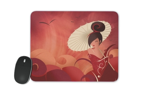 Sakura Asian Geisha for Mousepad