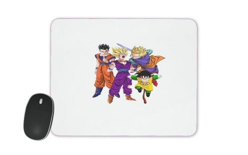 Sangohan evolution Fan Art for Mousepad