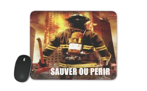 Save or perish Firemen fire soldiers for Mousepad