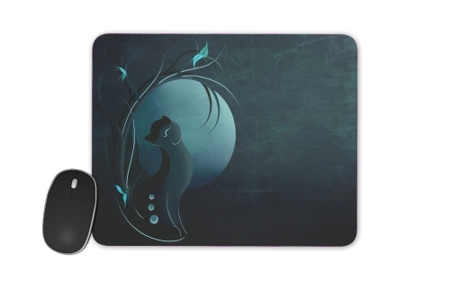 Sensual Cat in the Moonlight  for Mousepad