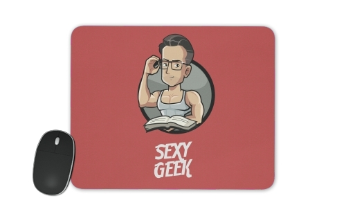 Sexy geek for Mousepad