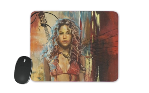Shakira Painting for Mousepad