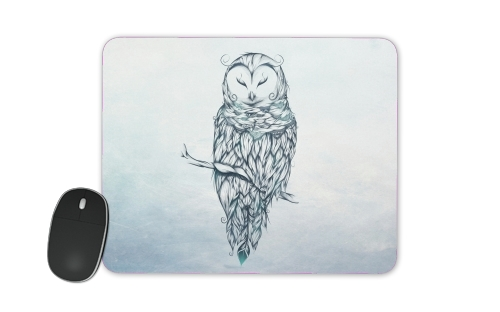 Snow Owl for Mousepad