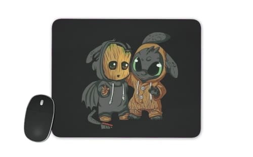 Groot x Dragon krokmou for Mousepad