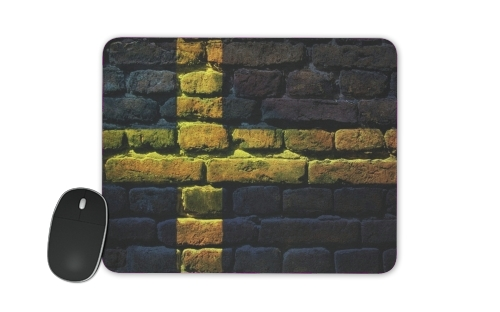 Sweden Brickwall for Mousepad