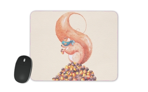 The Bandit Squirrel for Mousepad