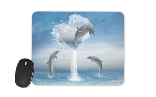 The Heart Of The Dolphins for Mousepad