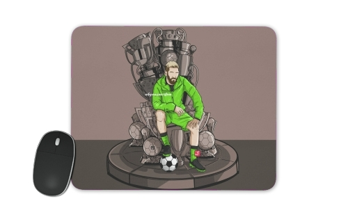 The King on the Throne of Trophies for Mousepad
