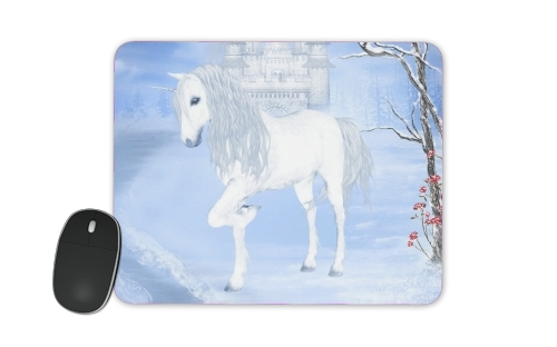 The White Unicorn for Mousepad