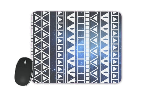 Tribal Aztec Pattern Blue for Mousepad