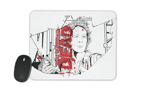 TWD Carol Watching for Mousepad