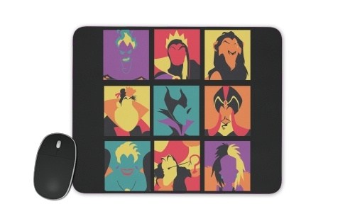 Villains pop for Mousepad