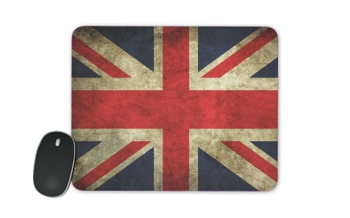 Old-looking British flag for Mousepad