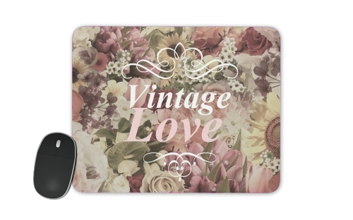 Vintage Love for Mousepad