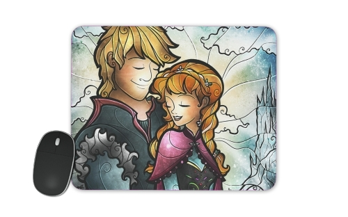 We found love in a frozen place for Mousepad