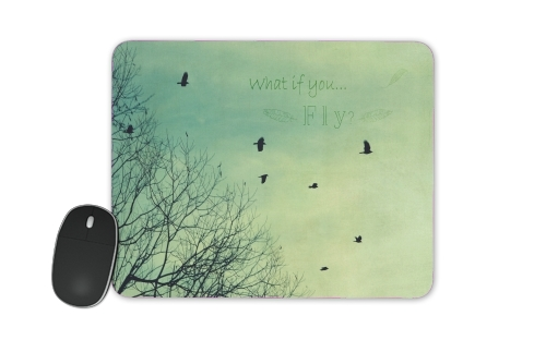 What if You Fly? for Mousepad