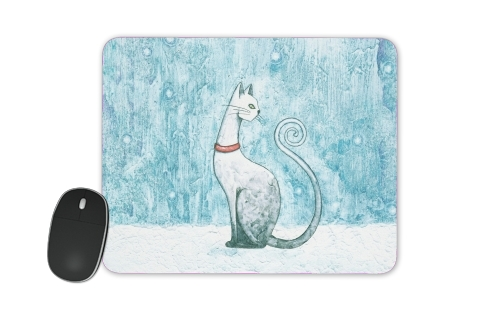 Winter Cat for Mousepad