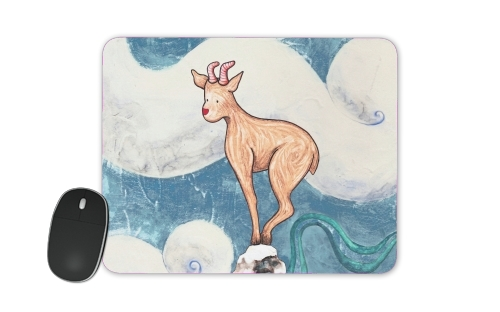 Winter Goat for Mousepad