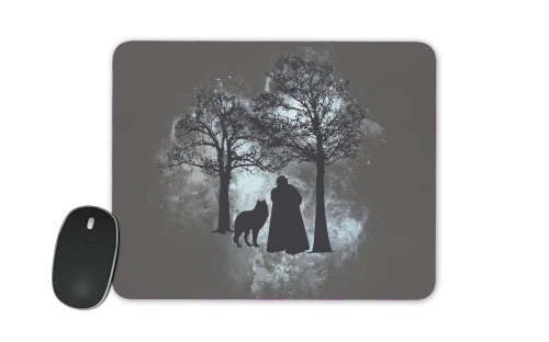 Wolf Snow for Mousepad