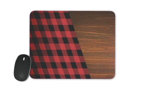 Wooden Lumberjack for Mousepad