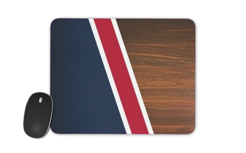 Wooden New England for Mousepad