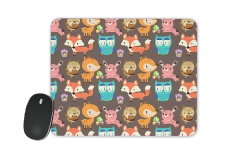 Woodland friends for Mousepad