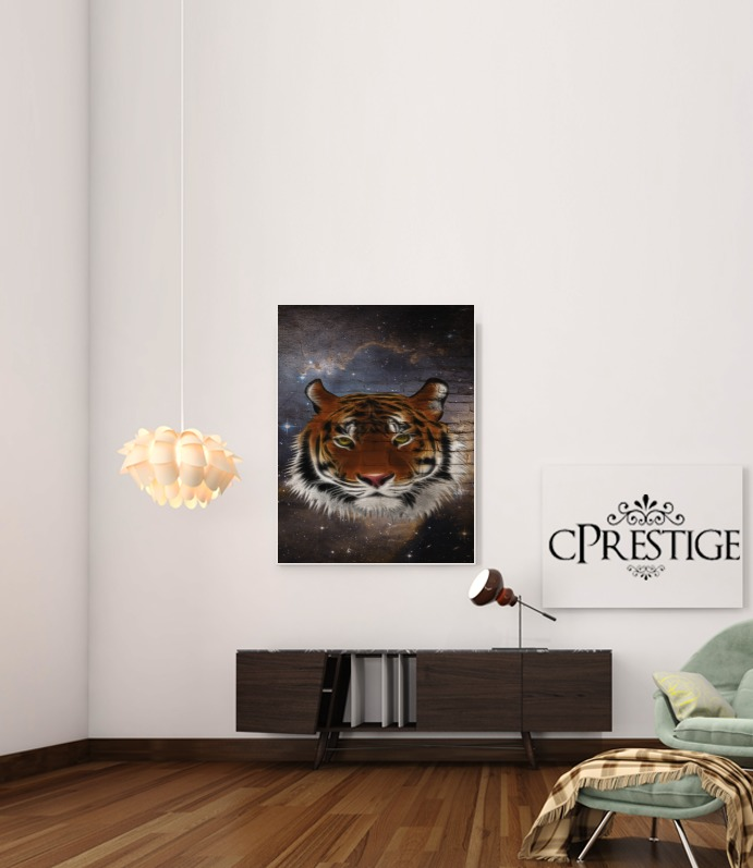 Abstract Tiger for Art Print Adhesive 30*40 cm