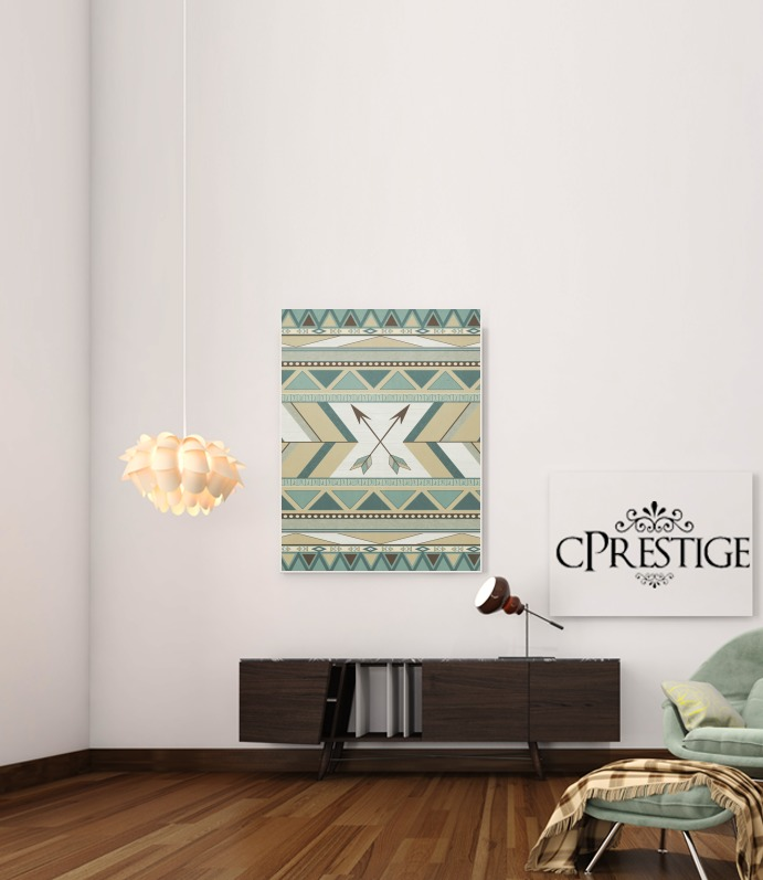 Aztec Pattern  for Art Print Adhesive 30*40 cm