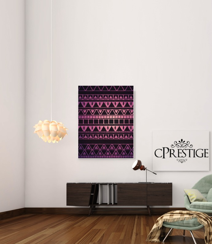 Aztec Pattern II for Art Print Adhesive 30*40 cm