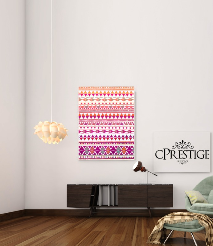 Tribal Aztec Summer Breeze for Art Print Adhesive 30*40 cm