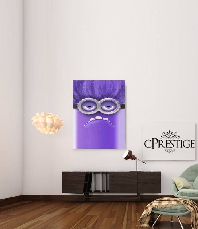 Bad Minion  for Art Print Adhesive 30*40 cm