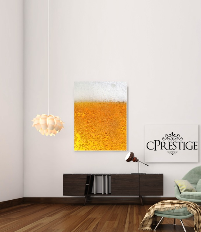 Beer with Foam(Moss) for Art Print Adhesive 30*40 cm