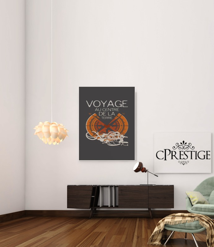 Books Collection: Jules Verne for Art Print Adhesive 30*40 cm