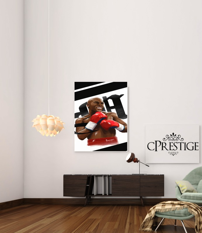 Boxing Legends: Money  for Art Print Adhesive 30*40 cm