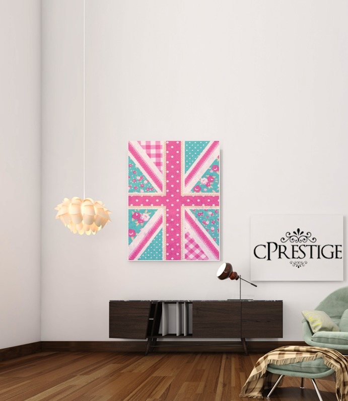 British Girls Flag for Art Print Adhesive 30*40 cm