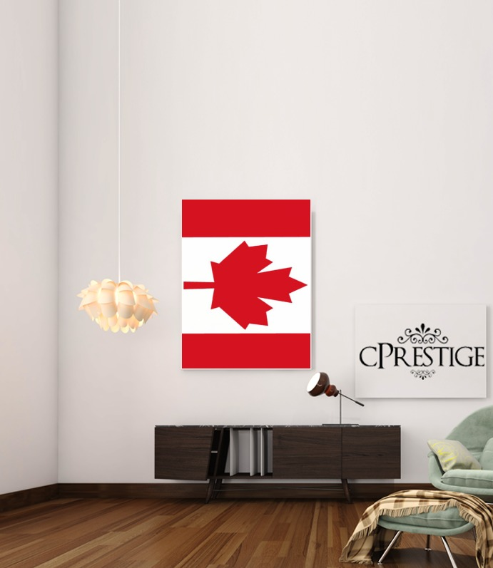 Flag Canada for Art Print Adhesive 30*40 cm