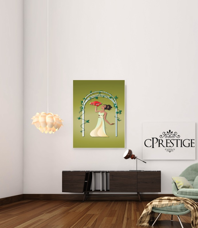 Cancer - Princess Tiana for Art Print Adhesive 30*40 cm