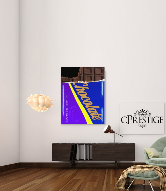 Chocolate Bar for Art Print Adhesive 30*40 cm