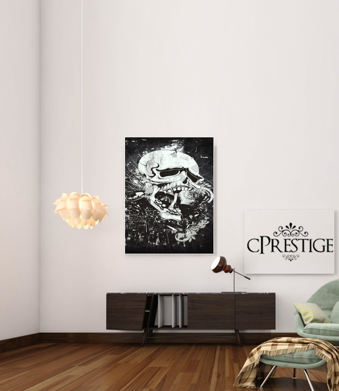 Dark Gothic Skull for Art Print Adhesive 30*40 cm