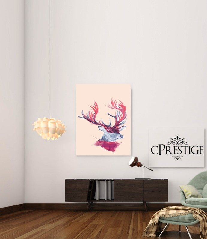 Deer paint for Art Print Adhesive 30*40 cm