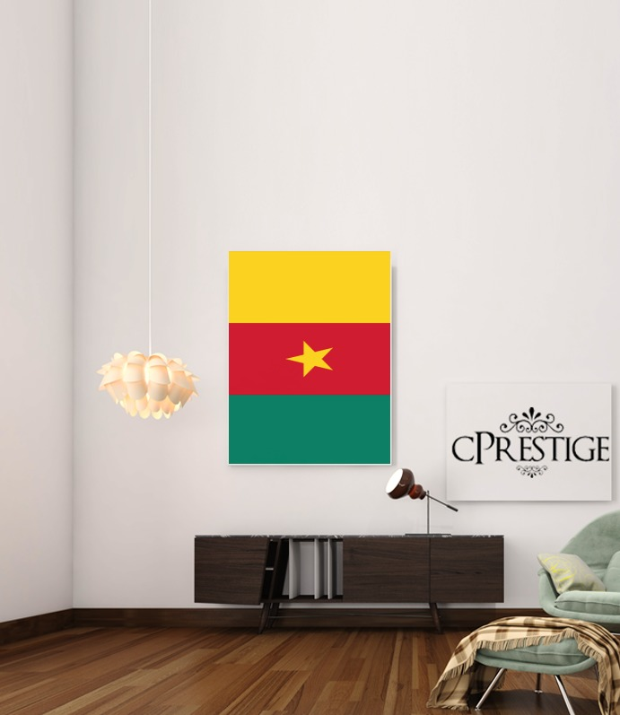 Flag of Cameroon for Art Print Adhesive 30*40 cm
