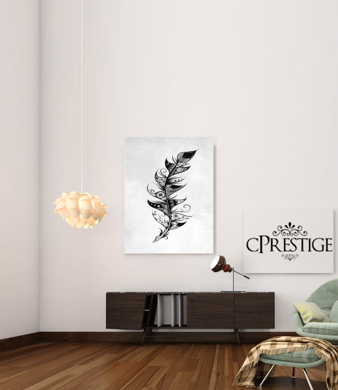 Feather for Art Print Adhesive 30*40 cm